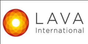 LAVA(ラバ)ロゴ
